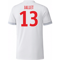 2017-18 Olympique Lyon Adidas Home Shirt (Jallet 13)