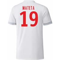 2017-18 Olympique Lyon Adidas Home Shirt (Kids) (Mateta 19)