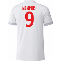 2017-18 Olympique Lyon Adidas Home Shirt (Kids) (Memphis 9)