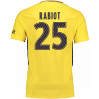 2017-18 PSG Away Shirt (Rabiot 25)