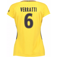 2017-18 PSG Away Womens Shirt (Verratti 6)