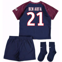 2017-18 Psg Home Baby Kit (Ben Arfa 21)