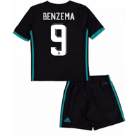 2017-18 Real Madrid Away Mini Kit (Benzema 9)