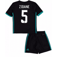 2017-18 Real Madrid Away Mini Kit (Zidane 5)