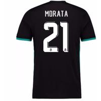 2017-18 Real Madrid Away Shirt (Morata 21)