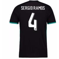 2017-18 Real Madrid Away Shirt (Sergio Ramos 4)