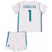 2017-18 Real Madrid Home Baby Kit (Casillas 1)