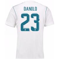2017-18 Real Madrid Home Shirt - Kids (Danilo 23)