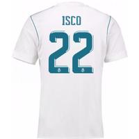 2017-18 Real Madrid Home Shirt - Kids (Isco 22)