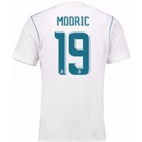 2017-18 Real Madrid Home Shirt - Kids (Modric 10)