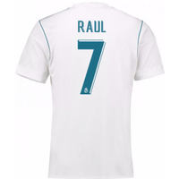 2017-18 Real Madrid Home Shirt - Kids (Raul 7)
