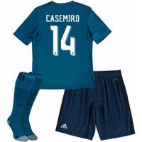 2017-18 Real Madrid Third Mini Kit (Casemiro 14)