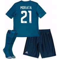 2017-18 Real Madrid Third Mini Kit (Morata 21)