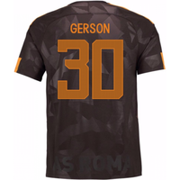 2017-18 Roma Third Shirt (Gerson 30) - Kids