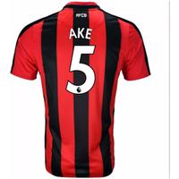 2017-18 Stoke City Home Long Sleeve Shirt (Ake 5)