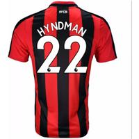 2017-18 Stoke City Home Long Sleeve Shirt (Hyndman 22)