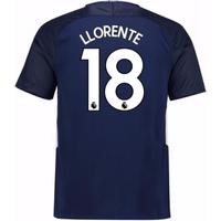 2017-18 Tottenham Away Shirt (Llorente 18) - Kids