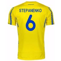 2017-18 Ukraine Home Shirt (Stepanenko 6)