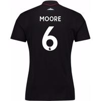 2017-18 West Ham Away Shirt (Moore 6) - Kids