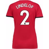 2017-2017 Man United Womens Home Shirt (Lindelof 2)