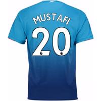 2017-2018 Arsenal Away Shirt (Mustafi 20) - Kids