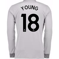 2017-2018 Man United Long Sleeve Third Shirt (Young 18)