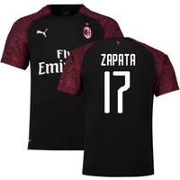 2018-19 Ac Milan Third Shirt (Zapata 17) - Kids