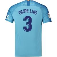 2018-19 Atletico Madrid Away Football Shirt (Filipe Luis 3) - Kids