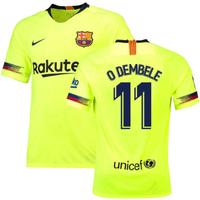 2018-19 Barcelona Away Shirt (O Dembele 11)
