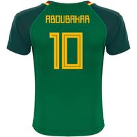 2018-19 Cameroon Home Shirt (Aboubakar 10)