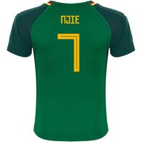 2018-19 Cameroon Home Shirt (Njie 7) - Kids