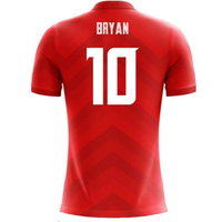 2018-19 Costa Rica Airo Concept Home Shirt (BRYAN 10)