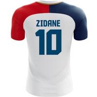 2018-19 France Away Concept Shirt (Zidane 10)
