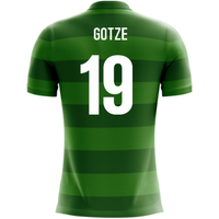 2018-19 Germany Airo Concept Away Shirt (Gotze 19)