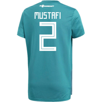 2018-19 Germany Away Training Shirt (Mustafi 2)