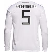 2018-19 Germany Home Long Sleeve Shirt (Beckenbauer 5)