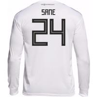 2018-19 Germany Home Long Sleeve Shirt (Sane 24)