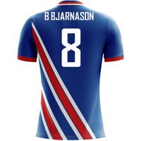 2018-19 Iceland Airo Concept Home Shirt (B Bjarnason 8) - Kids