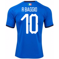 2018-19 Italy Home Shirt (R Baggio 10)