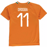 2018-19 Ivory Coast Home Shirt (Drogba 11) - Kids