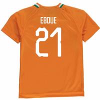 2018-19 Ivory Coast Home Shirt (Eboue 21)