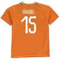 2018-19 Ivory Coast Home Shirt (Gradel 15)