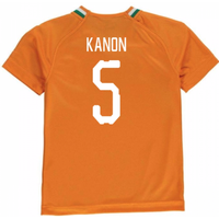 2018-19 Ivory Coast Home Shirt (Kanon 5) - Kids