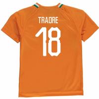 2018-19 Ivory Coast Home Shirt (Traore 18)