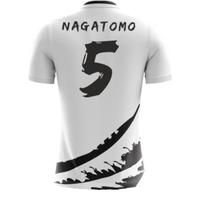 2018-19 Japan Airo Concept Away Shirt (Nagatomo 5)