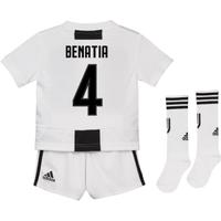 2018-19 Juventus Home Mini Kit (Benatia 4)