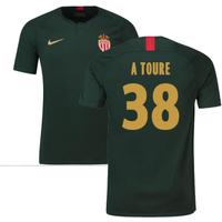 2018-19 Monaco Away Football Shirt (A Toure 38)