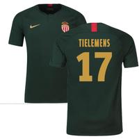 2018-19 Monaco Away Football Shirt (Tielemens 17) - Kids