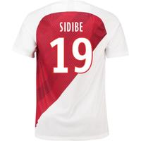 2018-19 Monaco Home Football Shirt (Sidibe 19) - Kids