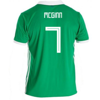 2018-19 Northern Ireland Home Football Shirt (McGinn 7)